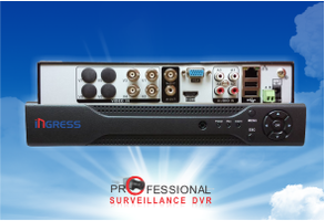4 Channel Hybrid DVR
